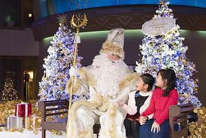 イクスピアリ®・クリスマスタウン グリーティングイベント