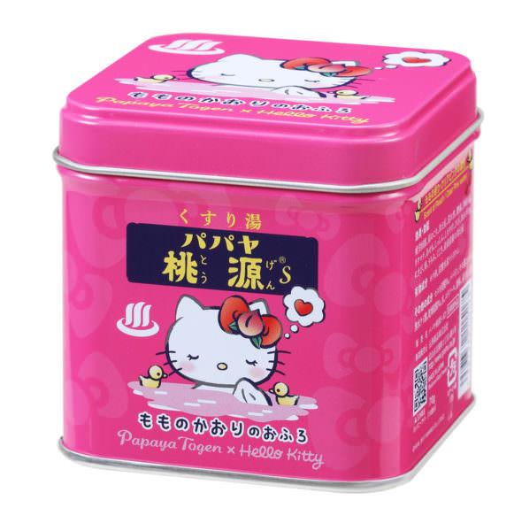 パパヤ桃源S キティデザイン缶 2