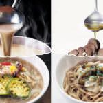 ミスタードーナツ「まるごときのこ麺」2種&「豆乳担々麺」