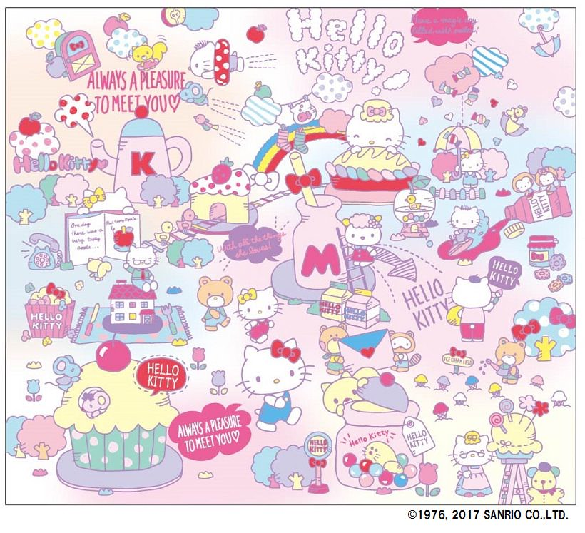 MEET HELLO KITTY'S WORLD