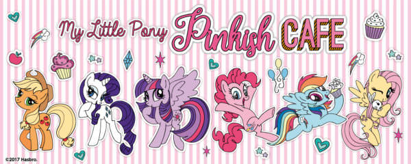 MY LITTLE PONY Pinkish Café(
