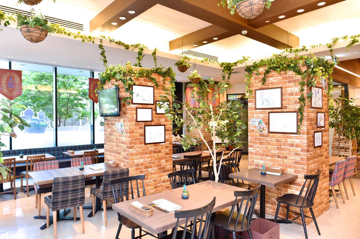 メアリと魔女の花 ガーデンサンドカフェ 東京スカイツリータウン・ソラマチ店内観