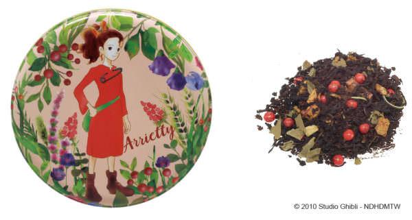 借りぐらしのアリエッティ ルピシア茶葉缶 紅茶 出発前のひととき