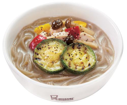 きのこ味わう白湯麺