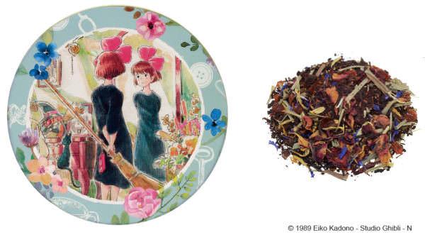 魔女の宅急便 ルピシア茶葉缶 紅茶 キキのお部屋