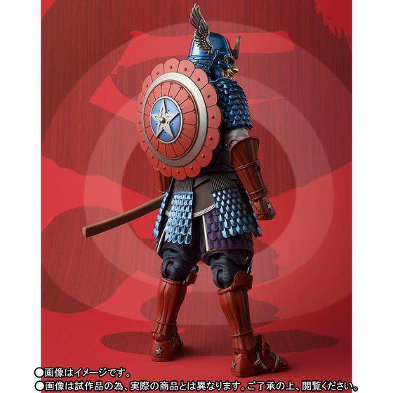 名将MANGA REALIZATION 侍 キャプテン・アメリカ 04