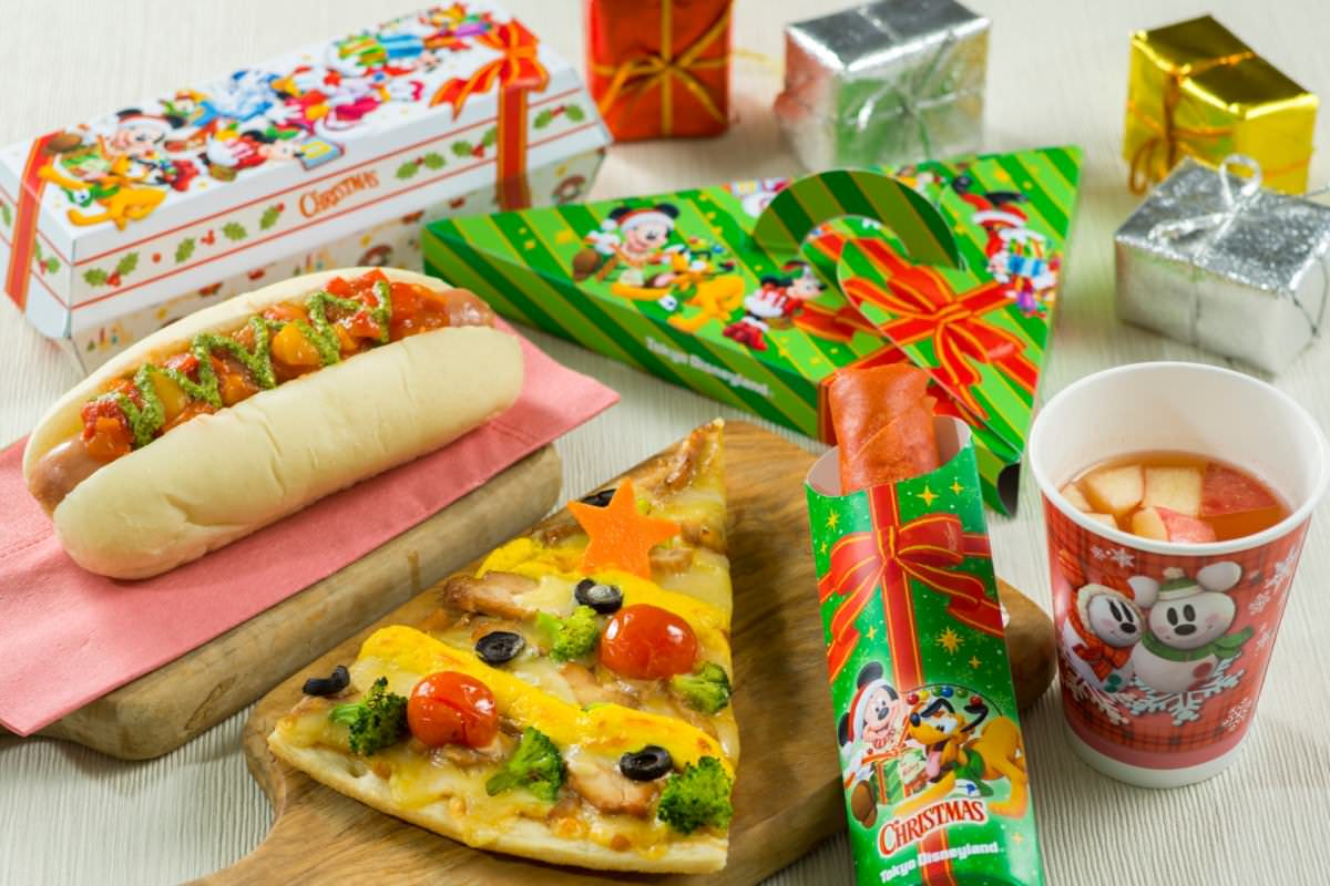 東京ディズニーランド クリスマス スペシャルメニュー