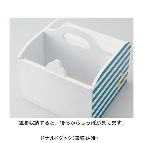 しっぽ付きメイクボックス ドナルド バックスタイル