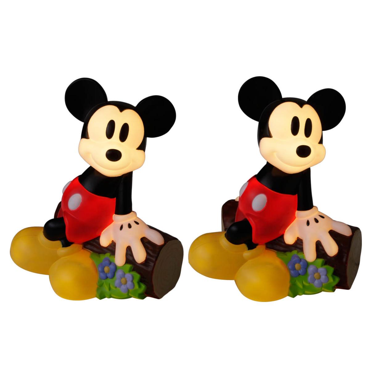 ブローライト ひとやすみミッキーマウス 点灯時