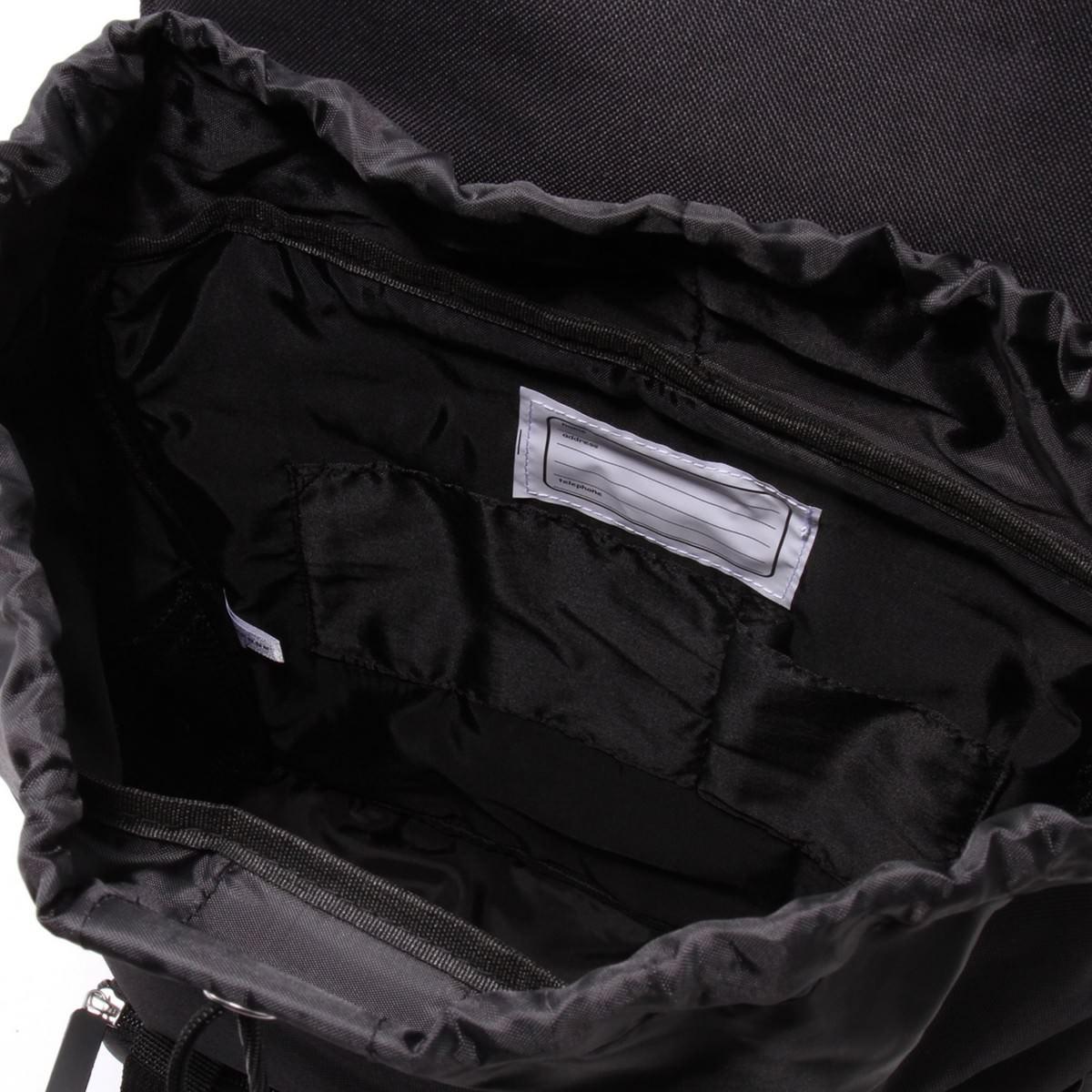 ガールズスクエアバックパック 内側   充実したポケットで収納力抜群!コンバース ディズニーデザイン「ガールズスクエアバックパック」