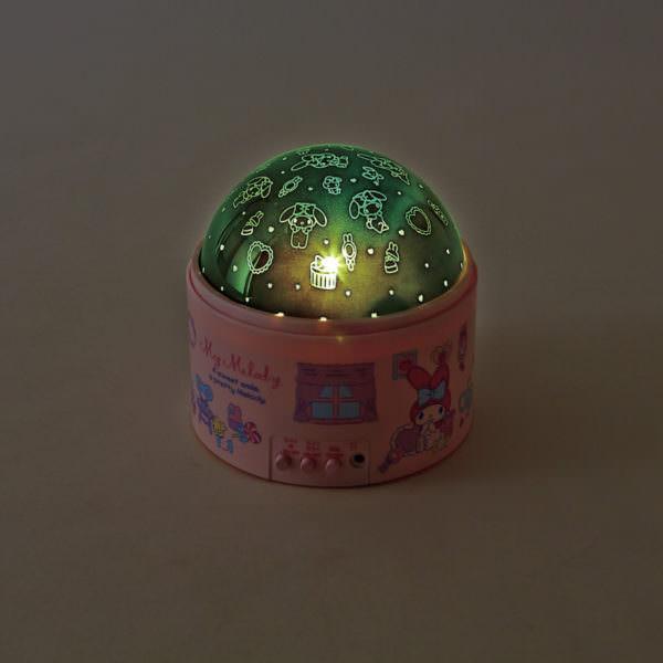 マイメロディドーム形ライト緑