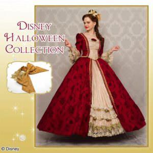 シークレットハニー Disney Halloween Collection「Enchanted Holiday Dress(Beauty and the Beast ver.)」