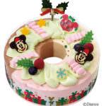 'ミッキー&ミニー' ドリームクリスマスリース