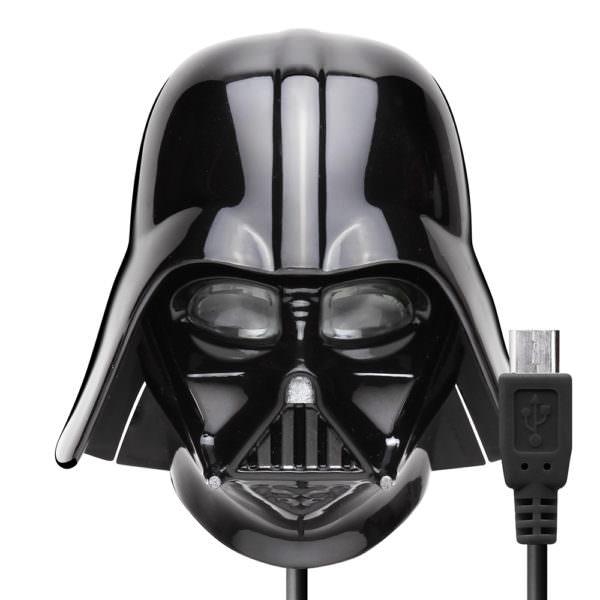 STAR WARS micro USBコネクタAC充電器2A ダースベイダー