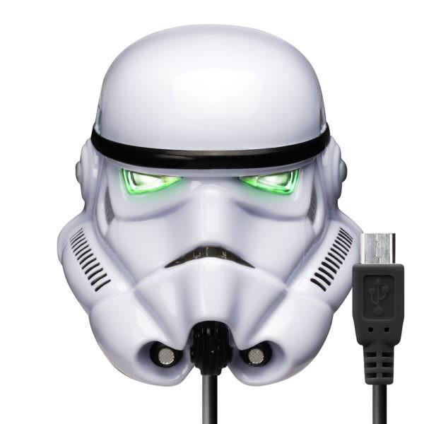 micro USBコネクタAC充電器2A ストームトルーパー3