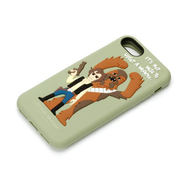STARWARS / iPhone 7用 シリコンケース / ハン・ソロ 03