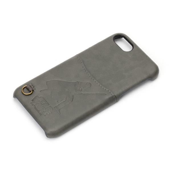 STARWARS / iPhone 7用 ハードケース ポケット付き / ダース・ベイダー01