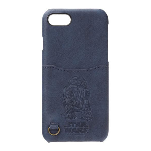 STARWARS / iPhone 7用 ハードケース ポケット付き / R2-D2 01