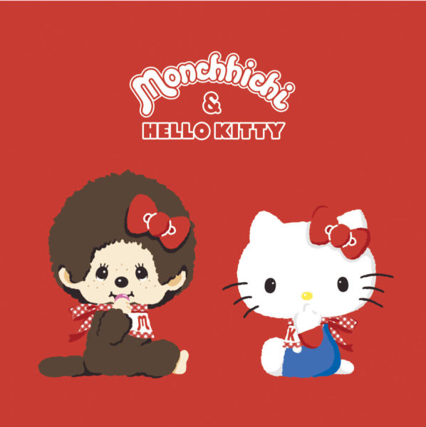 Monchhichi&HELLO KITTY