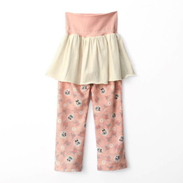 スムースハイネックパジャマ パンツ