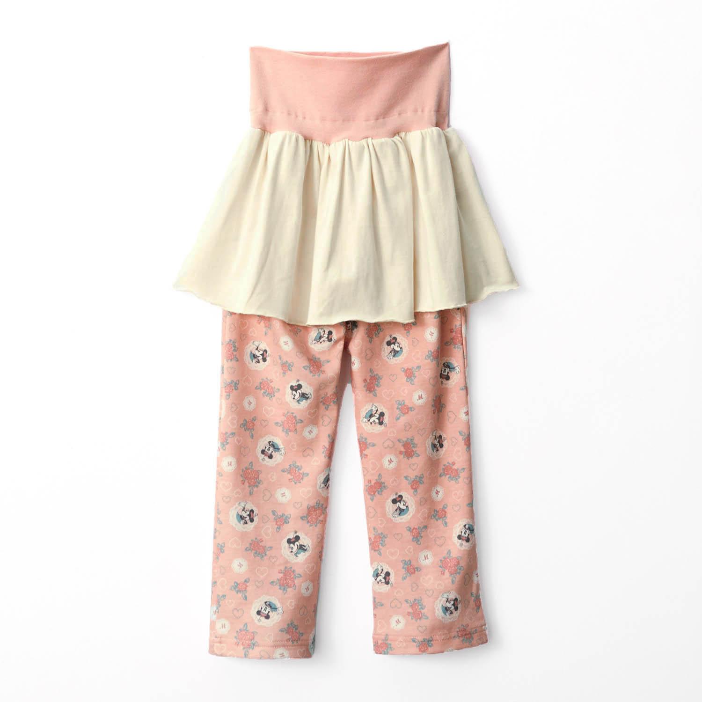 スムースハイネックパジャマ パンツ | どこから見ても可愛さ満点!ベルメゾン ディズニーデザイン「スムースハイネックパジャマ」