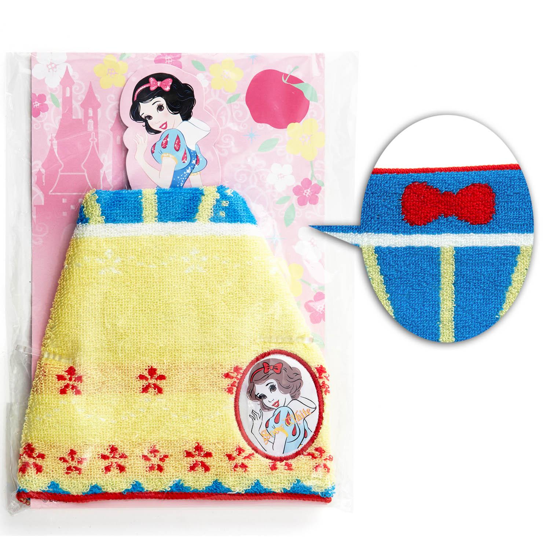 ガールズキャラクターのドレスアップタオル 白雪姫
