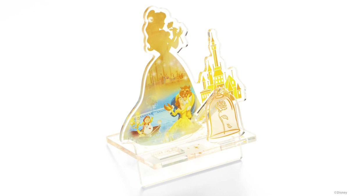 ウォークマンSシリーズ「Disney Princess Magical Box Beauty and the Beast」スタンド