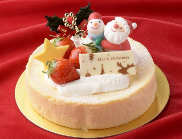 「クリスマスチーズケーキ」