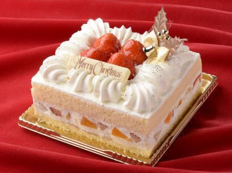 「クリスマス・スクエアショートケーキ」