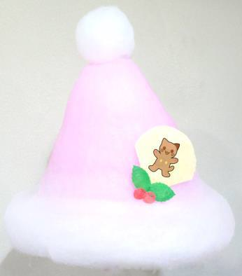 ふわふわ♡サンタ帽子