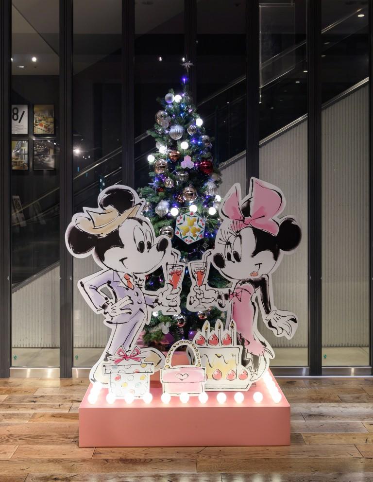 渋谷ヒカリエ 7階ミニツリー