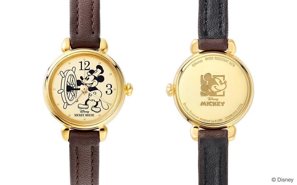 蒸気船ウィリー』のディズニー腕時計