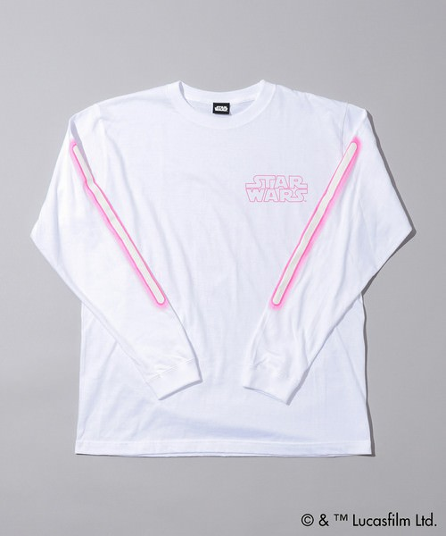 CIAOPANIC LONG SLEEVE TEE ホワイト