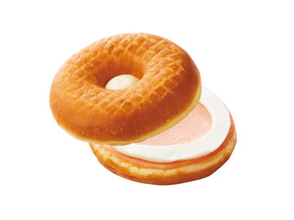 セイボリーサンド・ドーナツ ハムチーズ