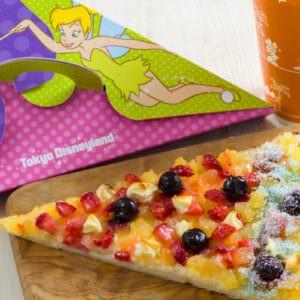 ティンカーベリーピザ(フルーツ&カスタード)