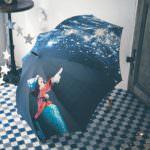 綺麗なグラフィカルプリント傘