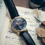 本革ベルトの3気圧防水時計/ファンタジア/ミッキーマウス