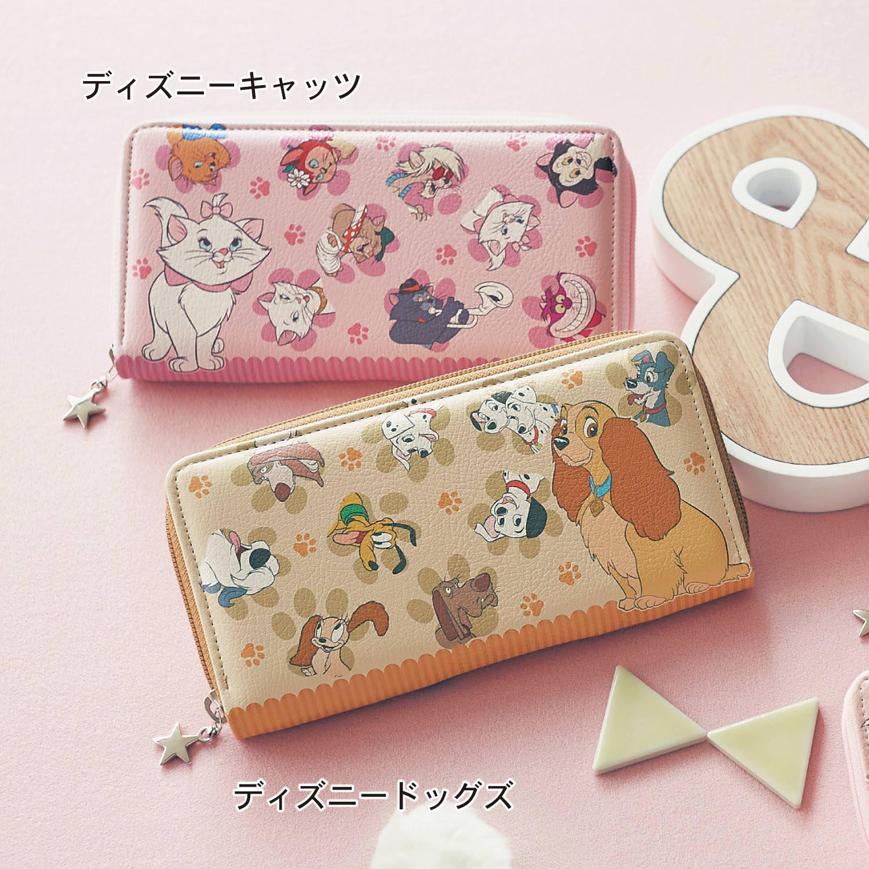 日本製プリント長財布