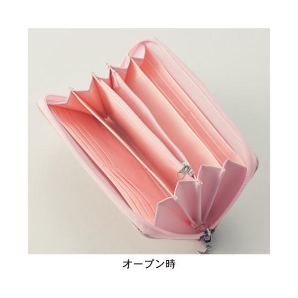 日本製プリント長財布 オープン時