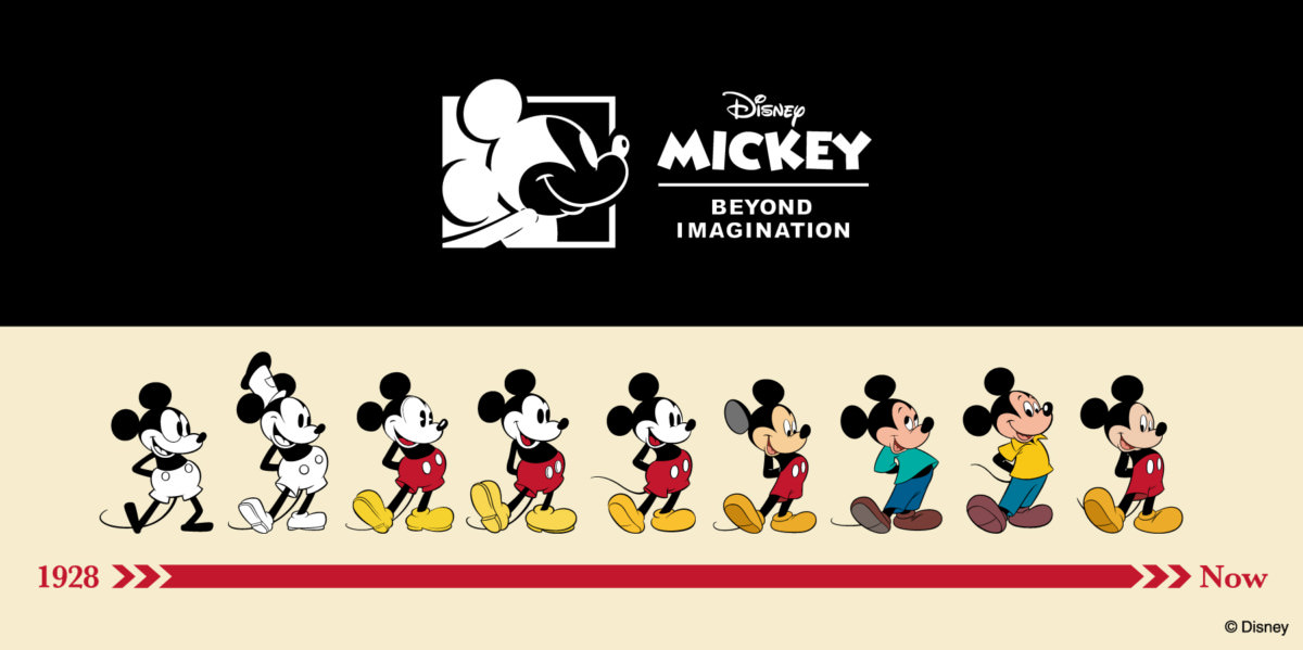 """Disney Collection created by Zoff Premium Series """"Vintage Line""""デザイン"""