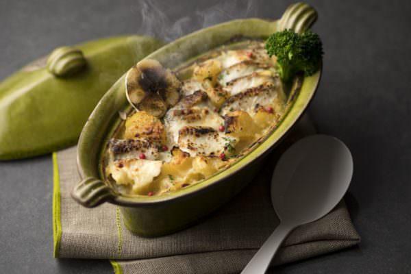 真鯛のグラタン 西京味噌風味