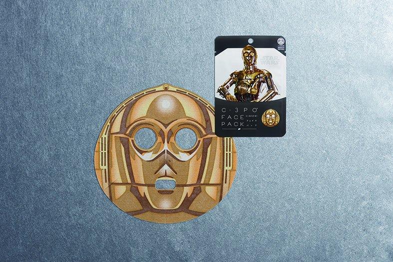 「スター・ウォーズフェイスパック」C-3PO