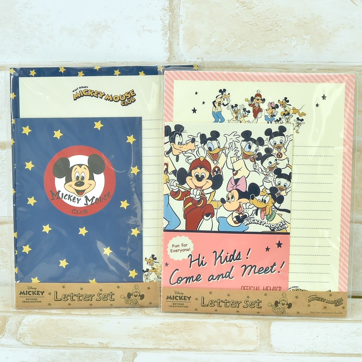 MICKEY MOUSE CLUB レターセット