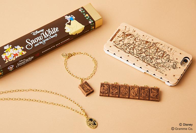 「Snow White〜白雪姫」コレクション チョコレートバーチャームセット/iPhone6ケース