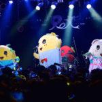 「ふなっしーLAND Select HARAJUKU」2周年記念イベント ミニライブ