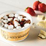 セブン-イレブン「マックスブレナー ストロベリーホワイトチョコレートチャンクアイスクリーム」