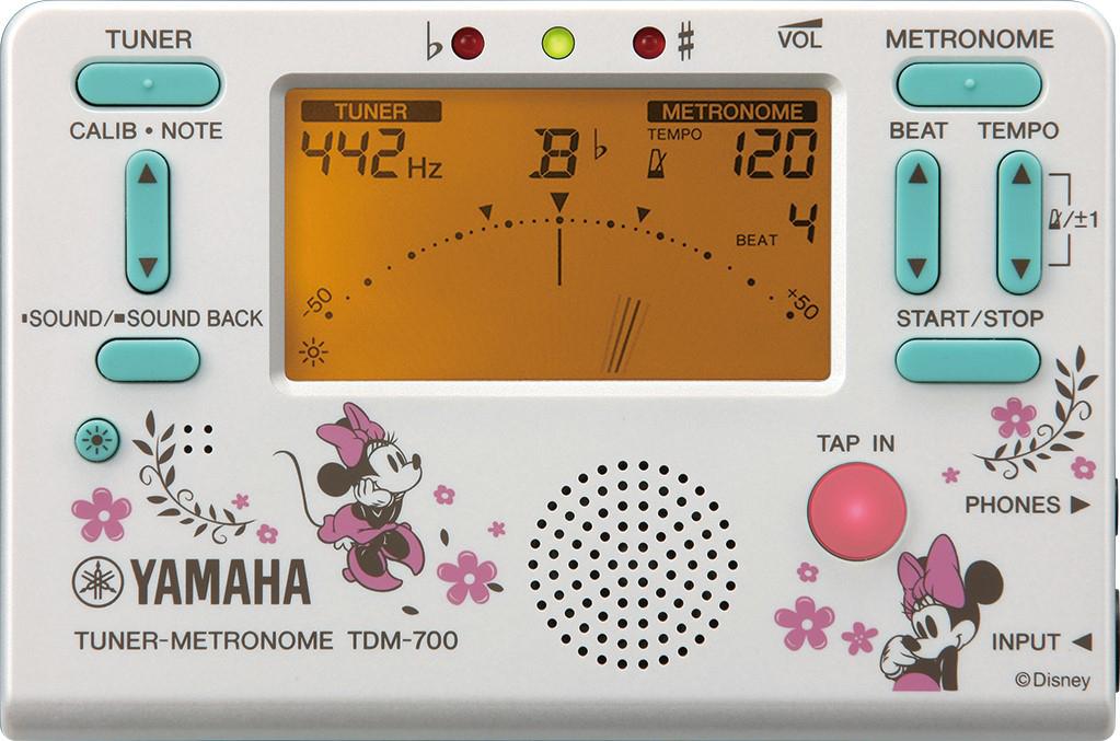 ヤマハ チューナーメトロノーム『TDM-700DMN4』ミニーマウス