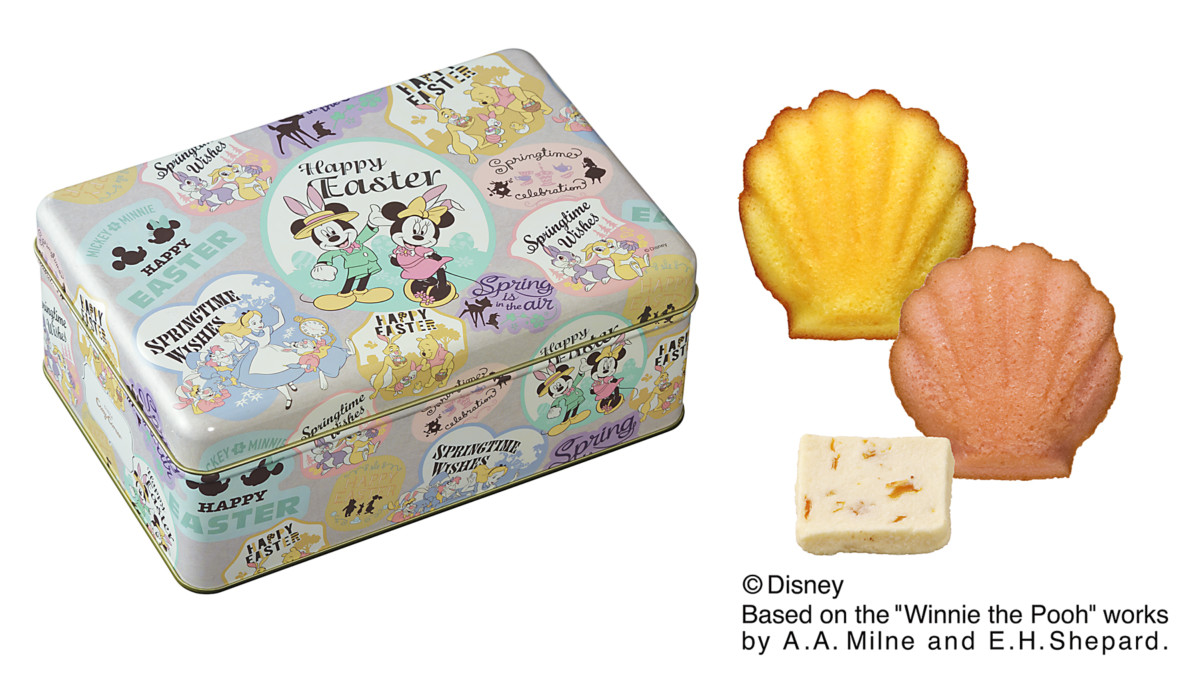 銀座コージーコーナー ディズニーデザイン「イースター焼き菓子」