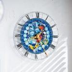 ベルメゾン ディズニーデザイン「アクリル時計/キングダム ハーツ」