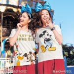 アートが変わる|ベルメゾン ディズニーデザイン「太陽で色が変わるTシャツ」